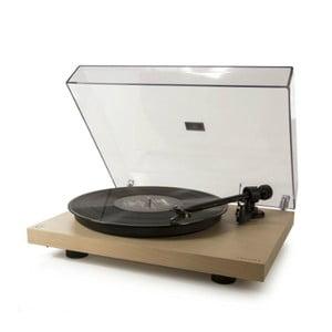 Béžový gramofon Crosley C10