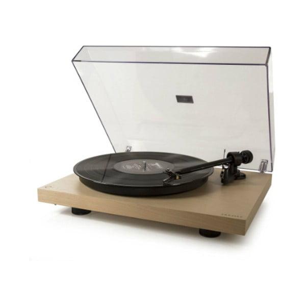 Beżowy gramofon Crosley C10