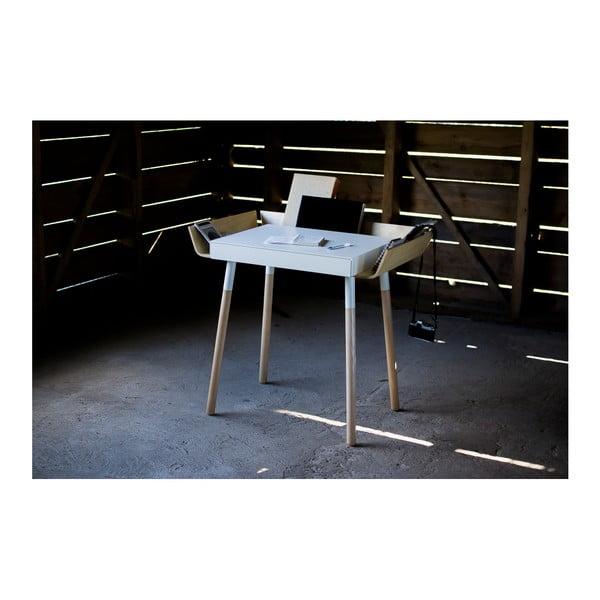 Bílý psací stůl s 1 šuplíkem EMKO My Writing