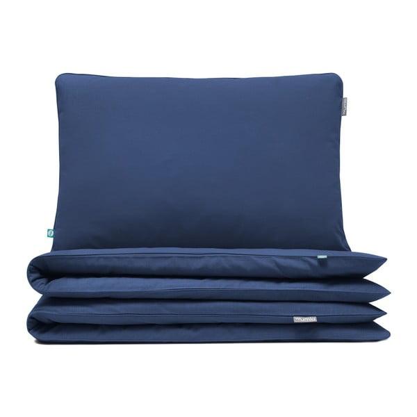 Lenjerie de pat Mumla Bedding Set, 200 x 200 cm, albastru închis