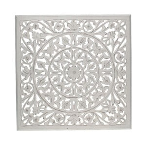 Nástěnná dekorace White Washed, 58x58 cm