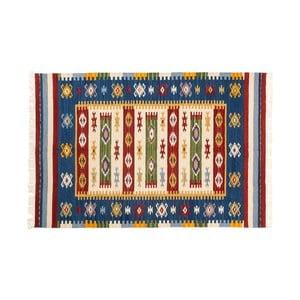 Ručně tkaný koberec Kilim Dalush 004, 90x60 cm