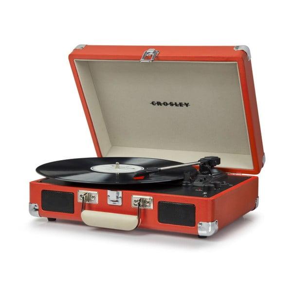Czerwony gramofon Crosley Cruiser Deluxe
