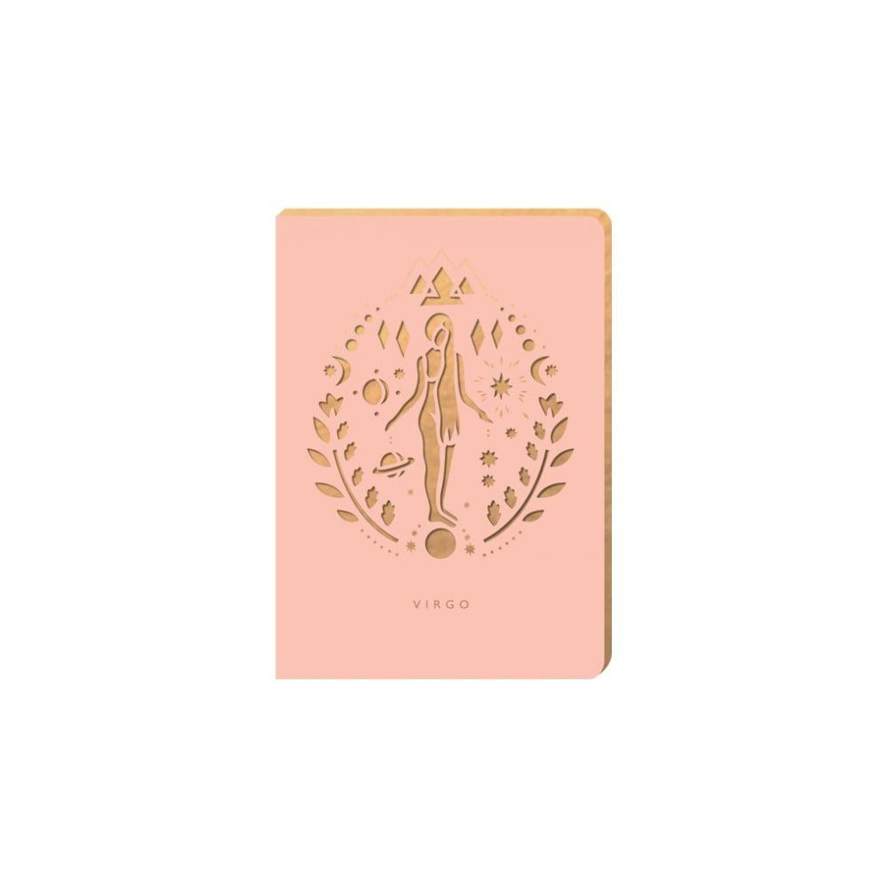 Linkovaný zápisník Portico Designs Panna, 124 stránek
