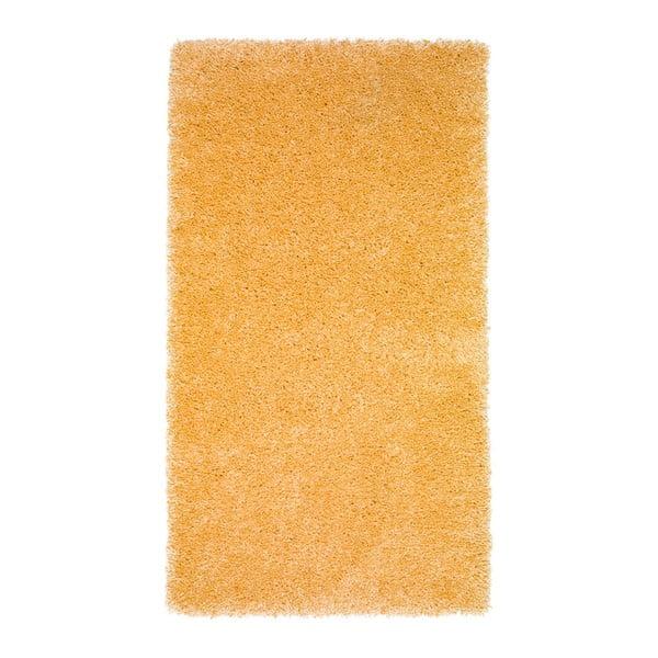 Žltý koberec Universal Aqua Liso, 57×110cm