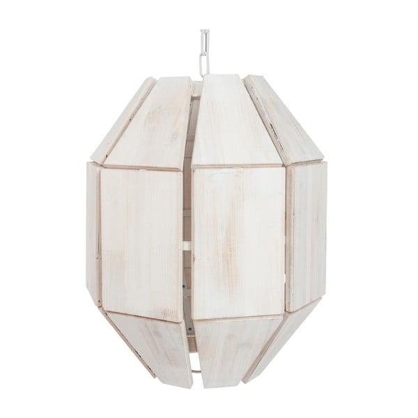 Bílé závěsné svítidlo J-Line Hang