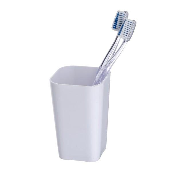 Suport pentru periuțe dinți Wenko Candy, alb