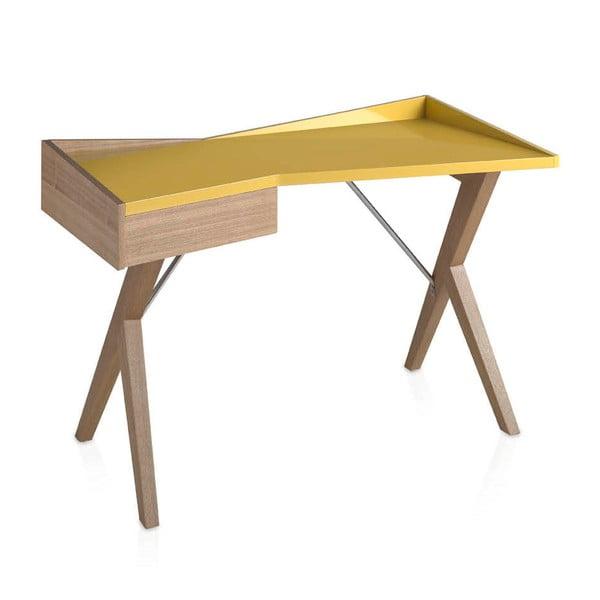 Yellow tölgyfa íróasztal - Ángel Cerdá