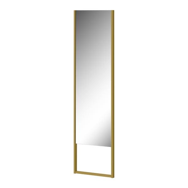 Stojací zrcadlo se zelenožlutým rámem Germania Monteo, délka194cm