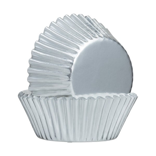Baking ezüstszínű muffin sütőpapír, 32 db - Mason Cash