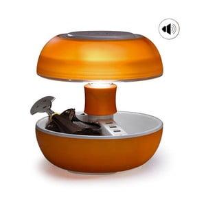 Stolní lampa, nabíječka a reprák v jednom Joyo Light, oranžová