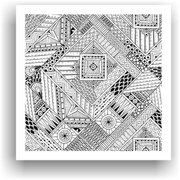 Obraz k vymalování Color It no. 66, 50x50 cm