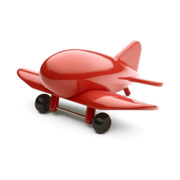 Dřevěné letadlo Airliner Red