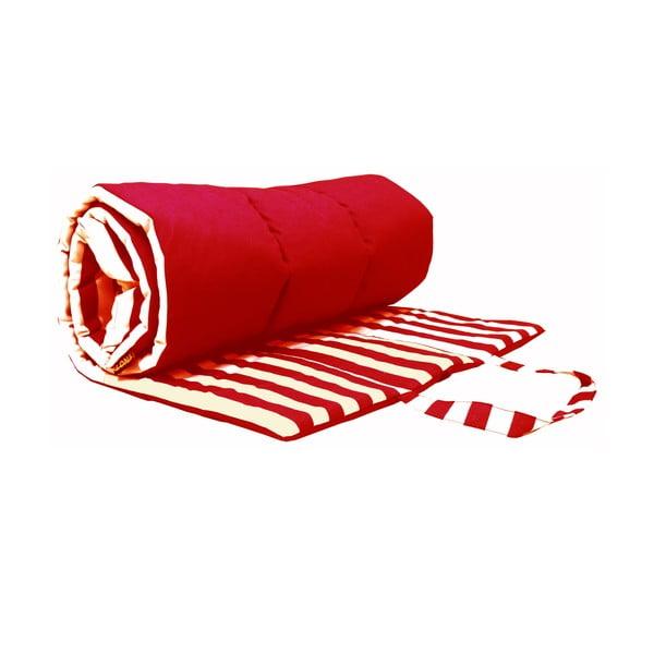 Skládací deka na piknik nebo opalování Lona, červená