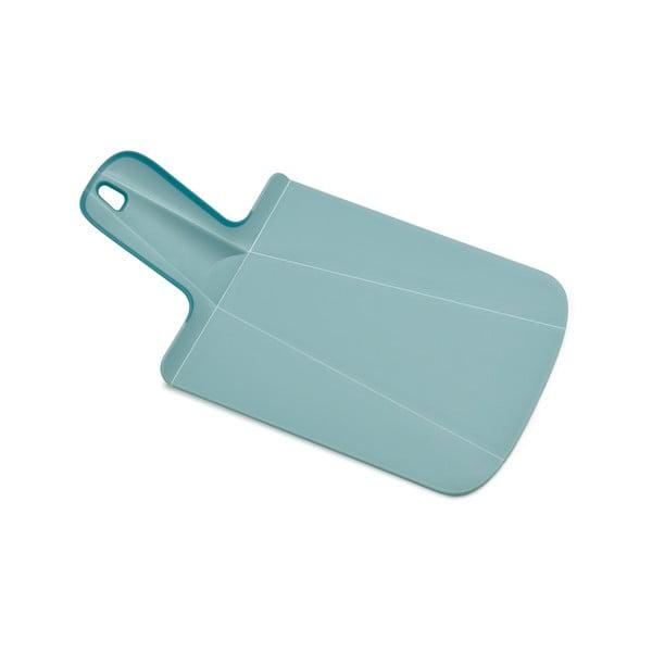 Skládací krájecí prkénko Chop2Pot, mini modré