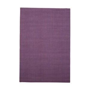 Fialový jutový koberec vhodný do exteriéru Native, 240 x 150 cm