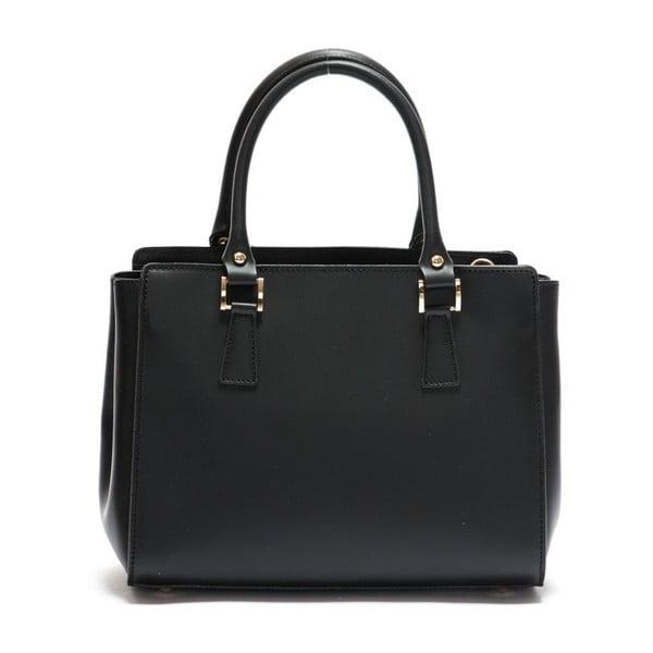 Černá kožená kabelka Mangotti Rudbekia