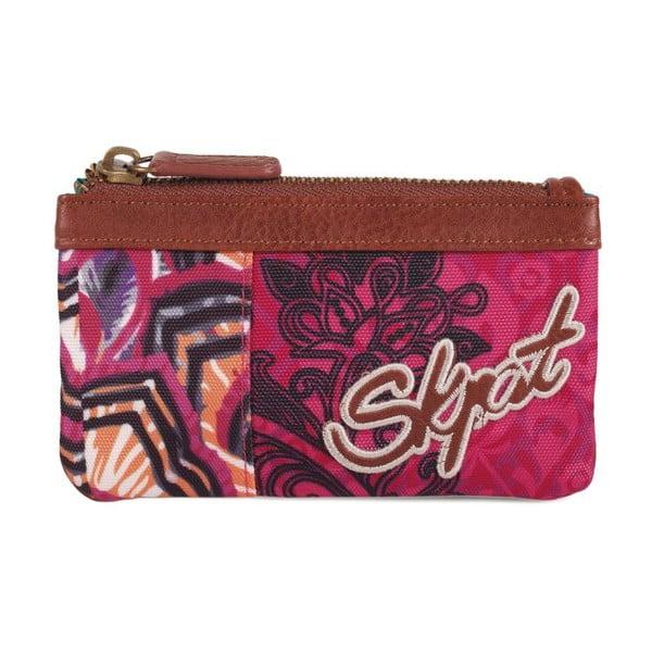 Pestrobarevná peněženka SKPA-T, 14 x 7 cm