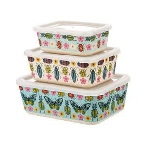 Sada 3 obědových boxů s motivy motýlů Sass & Belle Butterflies
