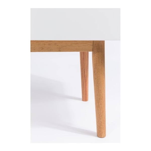 Bílá komoda Zuiver High On Wood 2x0