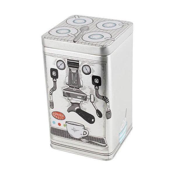 Plechová krabice Coffee Machine