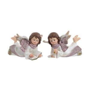 Sada 2 dekorativních andělíčků InArt Angel, výška7cm
