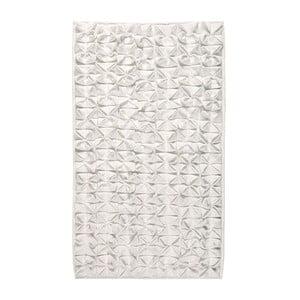 Koupelnová předložka Origami 60x100 cm, světlá