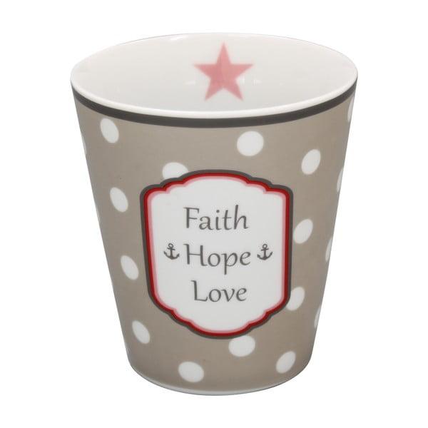 Hrnek Krasilnikoff Faith Hope Love