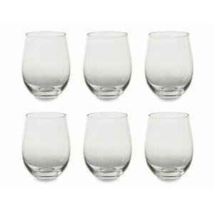 Sada 6 sklenic na víno Villa d'Este Transparent,430ml