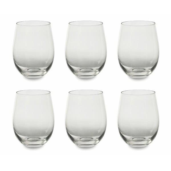 Set 6 pahare pentru vin Villa d'Este Transparent, 430 ml