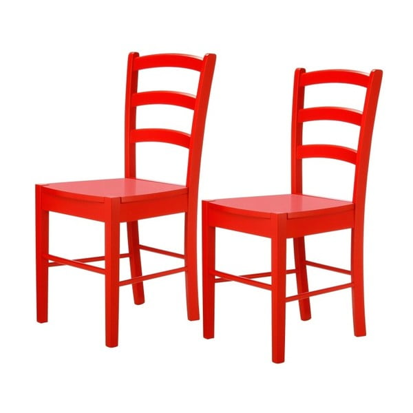 Trento Quer 2 darabos piros szék készlet - Støraa