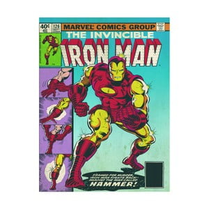 Obraz Pyramid International Iron Man Hammer, 60 x 80 cm