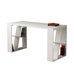 Bílý pracovní stůl Honey