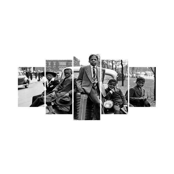 Vícedílný obraz Black&White no. 47, 100x50 cm