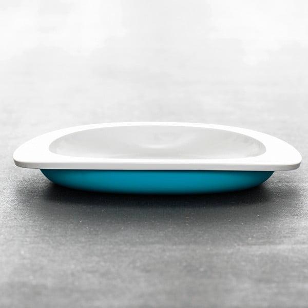 Dětský talíř, modrý