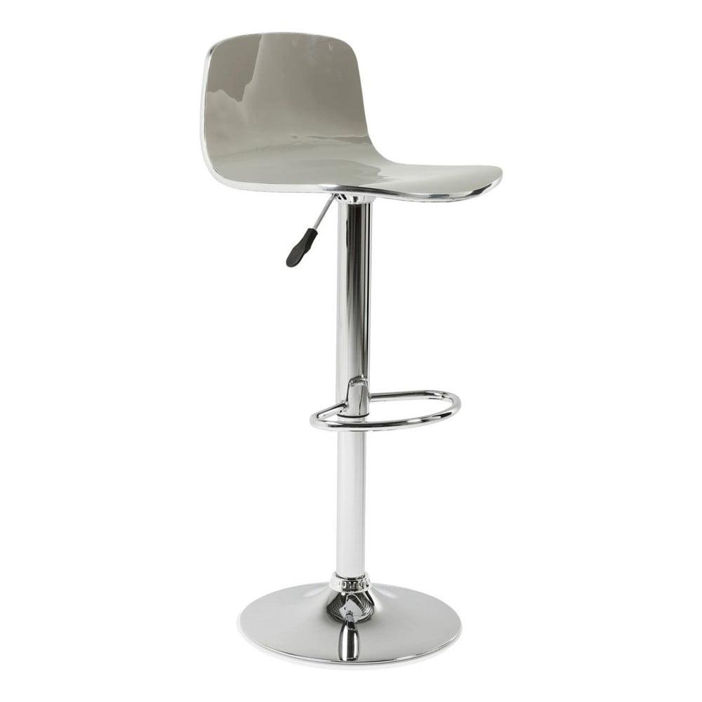 Sada 2 šedých barových stoliček Kare Design Dimensionale