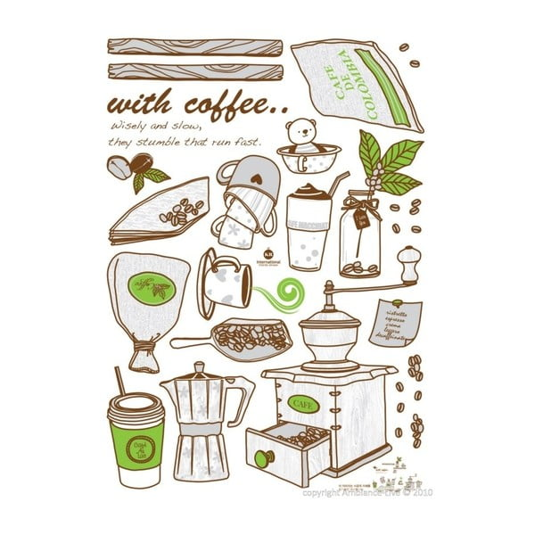 Autocolant Fanastick Coffee Grinder