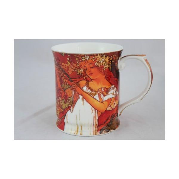 Alfons Mucha - hrnek Jaro, 0,4 l