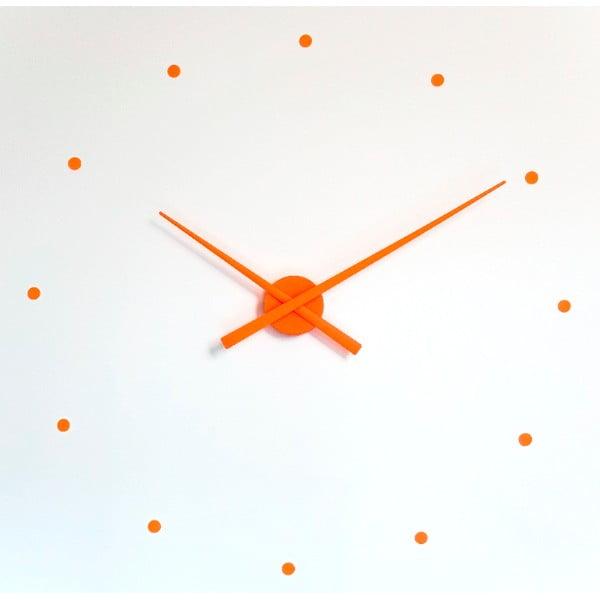 Hodiny Oj Mini 50 cm, oranžové