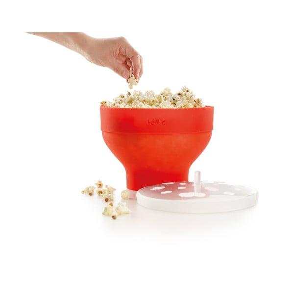 Bol din silicon pentru popcorn Lékué Popcorn, portocaliu