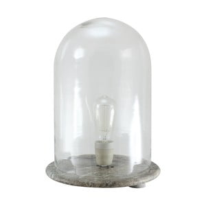 Lampa ze skla a mramoru Strömshaga, Ø 36 cm