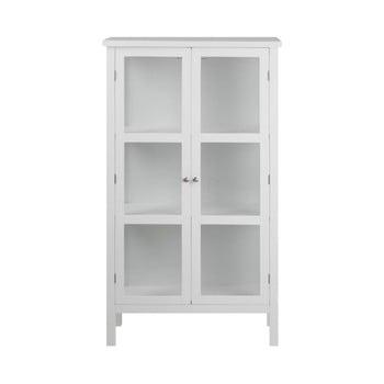 Vitrină cu 2 uși Actona Eton, înălțime 136 cm, alb