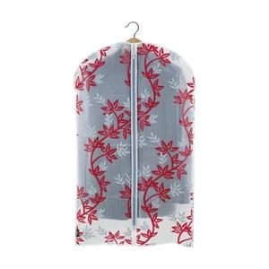 Červenobílý obal na oblek Domopak Living