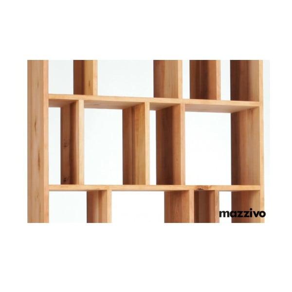 Knihovna z olšového dřeva, R102, natural