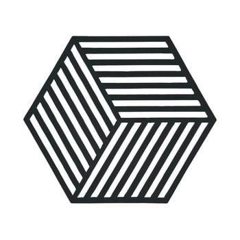 Suport pentru vase fierbinți Hexagon, negru imagine