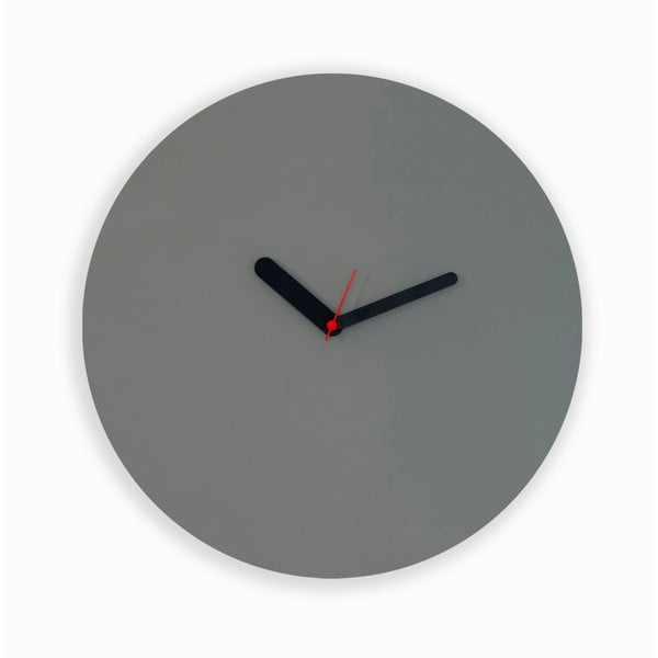 Nástěnné hodiny Draw Up Wall Grey