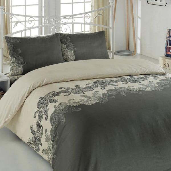 Lenjerie de pat cu cearșaf Scarlet, 160 x 220 cm