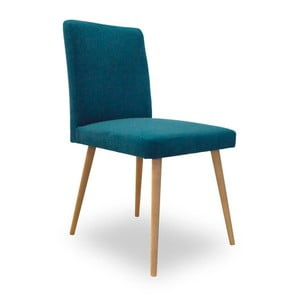 Tyrkysová jídelní židle Massive Home Paula