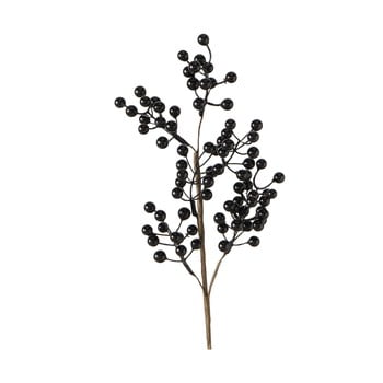 Floare artificială Boltze Beliana, negru