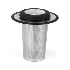 Sítko na sypaný čaj s podtáckem Bredemeijer, výška10,5cm